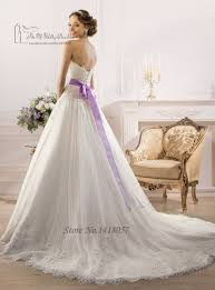 aliexpress com buy modest purple and white wedding dresses