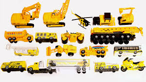 Attractive Construction Vehicles For Toddlers Learning Trucks And ...