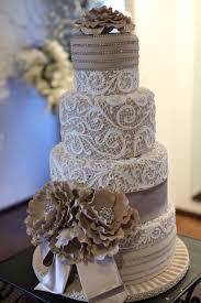 Taupe Wedding Cake Soft And Lovely
