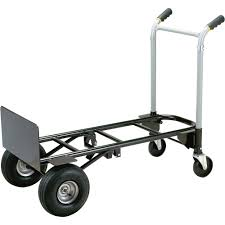 Harper Pro Steel Convertible Dolly/Cart — 700/900-Lb. Capacity ...