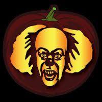 Clown Pumpkin Template by Pennywise Pumpkin Patterns Pinterest Pumpkin Carvings