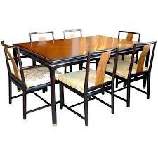 Mahogany Dining Room Set Table John Walnut And Six Chairs For