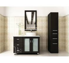 Small Narrow Floor Cabinet by Creative Of Floor Standing Bathroom Cabinet Portland White Narrow