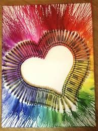 Melted Crayon Art Is An Easy And Fun Thing Its So Simple Yet The