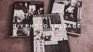 Diy Tumblr Notebook Photo Collage