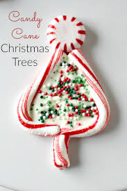 Rice Krispie Christmas Trees White Chocolate by 18 Candy Cane Ideas That Prove This Red And White Treat Is The