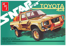 100 1980 Toyota Truck Amazoncom AMT 125 Hilux Sr5 Pickup 2t Snap Toys Games