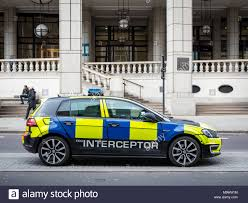 99 Eco Golf Police Interceptor Car City Of London Police Using A VW