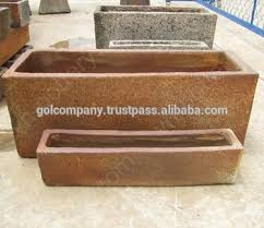Wholesale Rectangle Rustic Copper Pots