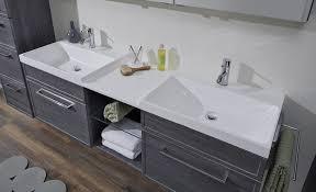 moderner doppelwaschtisch 160 cm mit unterschrank badmöbel