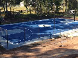There's An Aerial View Of The Air Jordan Themed Full-court And Two ... Triyae Asphalt Basketball Court In Backyard Various Design 6 Reasons To Install A Synlawn Home Decor Amazing Recreational Lighting Full 4 Poles Fixtures A Custom Half For The True Lakers Snapsports Outdoor Courts Game Millz House Cost Australia Home Decoration Residential Gallery News Good Carolbaldwin Multisport System Photo Diy Stencil Hoops Blog Clipgoo Modern