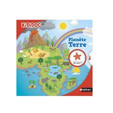 Livre Planète Terre Kididoc Pour Enfant De 6 Ans à 9 Ans Oxybul