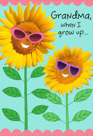 Sunflower Bath Gift Set by Sunflower Shades Grandparents Day Card For Grandma Greeting
