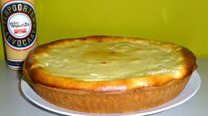rhabarberkuchen mit verpoorten quark guss