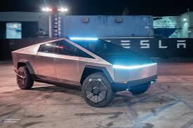 100 Lights For Trucks Tesla Cybertruck Will Have Laser Blade Lights And Adjusted