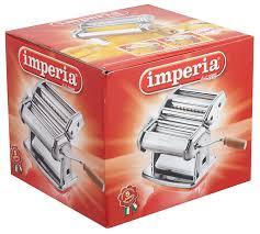 imperia pasta maker machine steel construction w easy lock