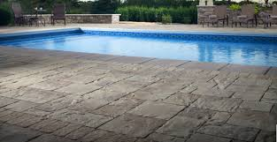 pool deck pavers turn any into an enticing centerpiece install it