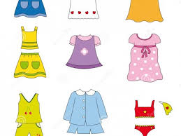 Kids Clothing Clipart Summer Clothes Clip