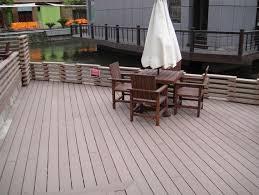 Composite Supplier Terrace Floor Tiles Optionsexterior Waterproof Flooring