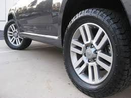 100 20 Inch Truck Tires Need Advice On All Terrain Tires For In Limited Wheels Toyota