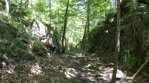 100 Wildcat Ridge FileIron Mine Railroad Cut Trail Panoramio