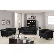 canap simili cuir 2 places canapé chesterfield noir capitonné en simili cuir 2 places
