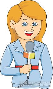 Microphone Clipart Reporter 1