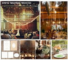 Rustic Western Wedding Image Credits Starting From The Left Going Clockwise Country Centerpieces
