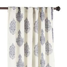 Pier 1 Imports Curtain Rods by Rambagh Paisley Indigo Curtain Pier 1 Imports