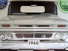 1960 CHEVY CHEVROLET TRUCK WHITE GARAGE SCENE Neon Effect Sign ...