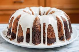 Classic Marbled Chocolate Bundt Cake