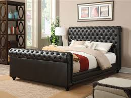 Obtain the Leather Sleigh Bed to Be Your forting Pleasure