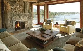 100 Lake Cottage Interior Design Rusticstonefireplacelakecottage Dcor Aid