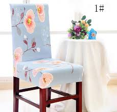 Chair CoverRemovable Washable Elastic Stretch Slipcovers Short Dining Room Seat Cover Protector Slipcover Furniture Protectors For Sofas