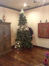 Prelit Christmas Tree Self Rising by Christmas A Ginger Snapped