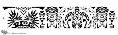 Tattoo Of Maori Samoan Armband Valiance Friendship