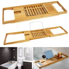 Teak Bath Caddy Australia by Tub Rack Epienso Com
