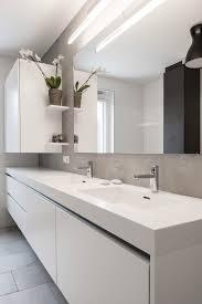 stylisches badezimmer mit beton optik