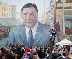 Big Ang Mural Petition by After Charlottesville Spotlight Falls On Rizzo Memorials