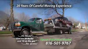 100 Tow Truck Kansas City Mr Wendells Gimme 50 Bucks And 10 On The Gas Service 2008 E