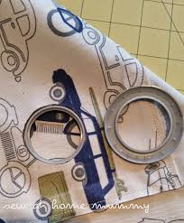 Dritz Home Curtain Grommets Instructions by Sew At Home Mummy Tutorial Tool Free Grommet Panel Curtains