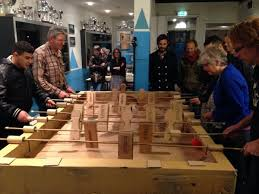Keimpe On Twitter Cool Cardboard Table Soccer Game Fabbed With Lasercutter Glue And Lots Of Good Energy At VV Hoograven Tco P7ePmLRvTj