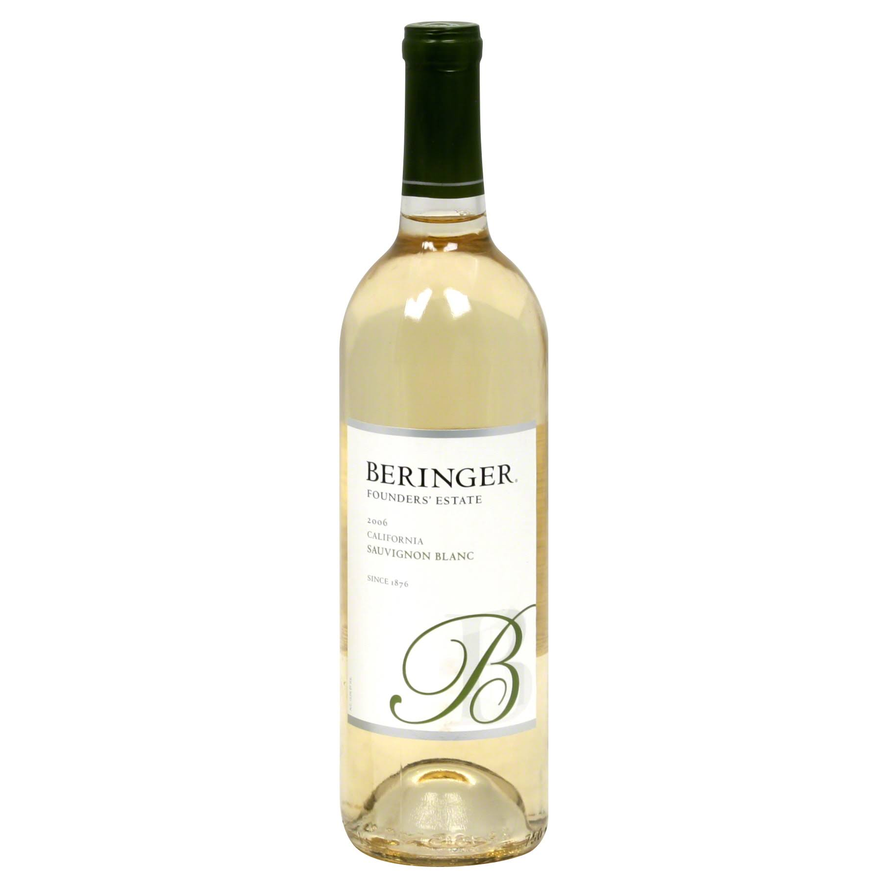 Beringer Founder's Estate Sauvignon Blanc, California, 2006 - 750 ml