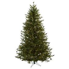The Holiday Aisle Nearly Natural 75 Green Classic Pine And Cone Artificial Christmas Tree With 500 Clear Lights Stand