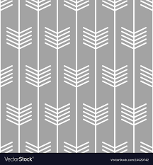100 Scandinvian Design Arrow Pattern Seamless Scandinavian Design Vector Image