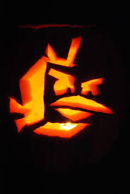 Madagascar Penguin Pumpkin Stencil by The Swenson Family October 2012