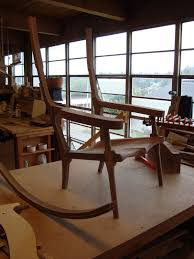 Maloof Rocking Chair Joints by Pat Beurskens Woodworking Portfolio Sam Maloof Style Rocking Chair