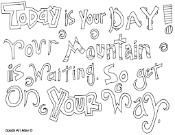 Gallery Of Quotes Coloring Pages Great GJ4