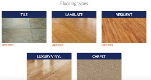 Resilient Flooring Types Designs
