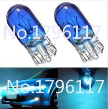 100pcs 12v 5w t10 w5w 194 501 car halogen bulb signal interior car